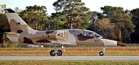 Sean Flopper in his L-39 Jet