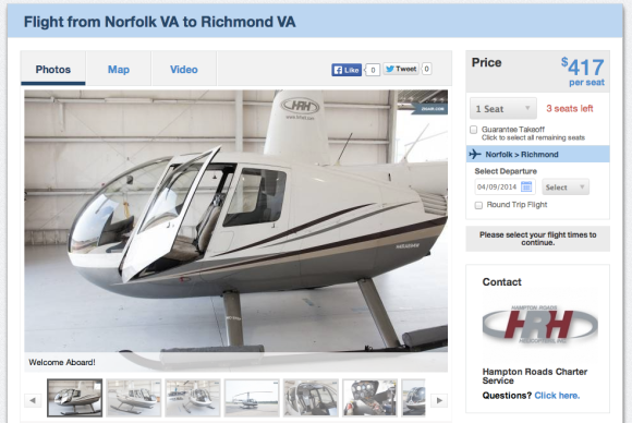 ZigAir - Helicopter Listing